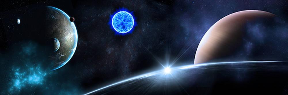 Svetlana Sewell - in Space