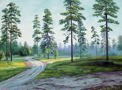 In the evening by Sergey Lutsenko