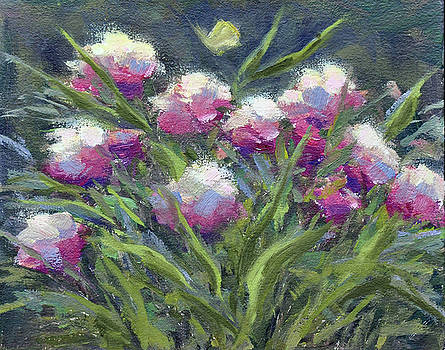 In the Garden by Mary Byrom