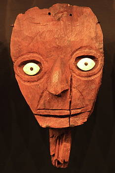 Inca Ceremonial Mask by Roupen  Baker