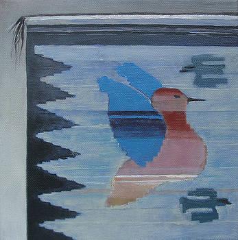 Indian Bird Motiv by Eve Corin