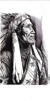 Indian Chief by Cecill Woods