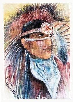 Indian Portrait by Linda Shackelford