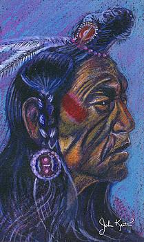 Indian Profile by John Keaton