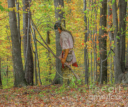 Randy Steele - Indian Warrior Early Fall