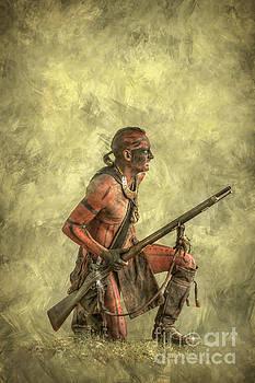Randy Steele - Indian Warrior with Rifle