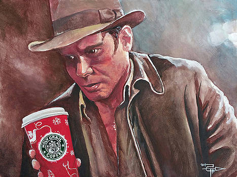 Indiana Jones and The Holy Java by Tom Carlton