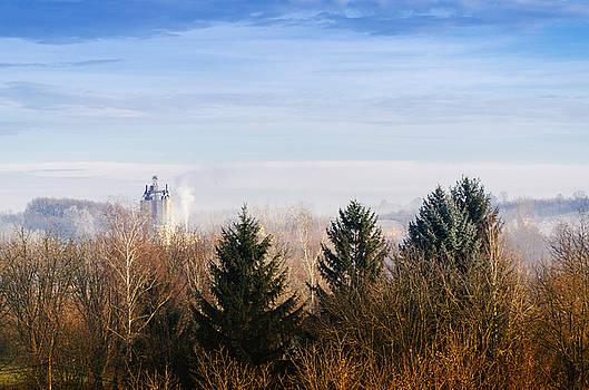 Industrial Morning by Srdjan Fesovic