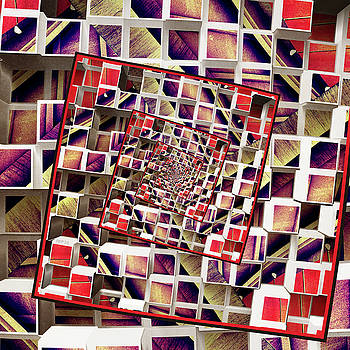 Infinite Rotating 3D Cubes by Phil Perkins