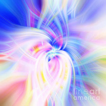 Infinity Rainbow Abstract by Phill Petrovic