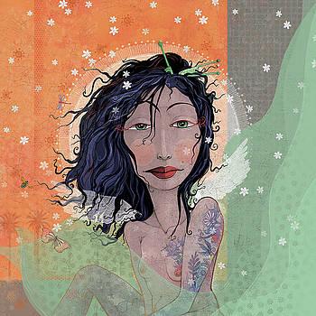 Inked Angel  by Dennis Wunsch