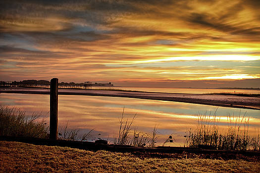 Inlet Watch At Dawn by Phil Mancuso