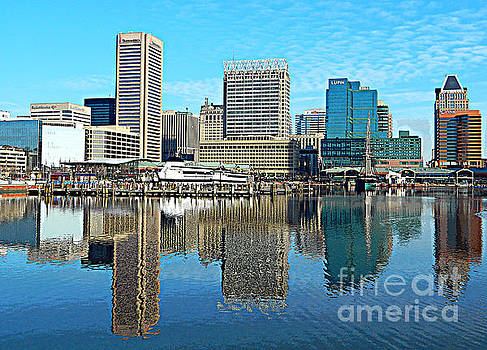 Inner Harbor Reflections by Emmy Marie Vickers