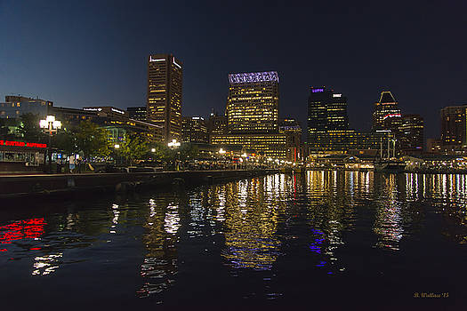 Inner Harbor Waterfront by Brian Wallace