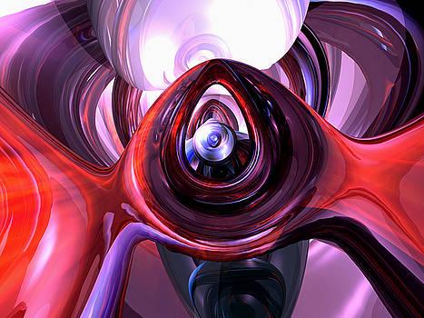 Alexander Butler - Inner Peace Abstract