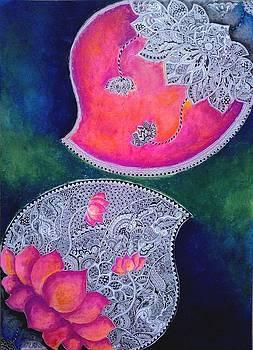Innerself-zentangled by Gaura Aggarwal