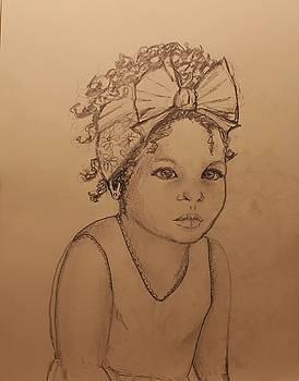 Sugar Baby ... drawing by Anne Buffington