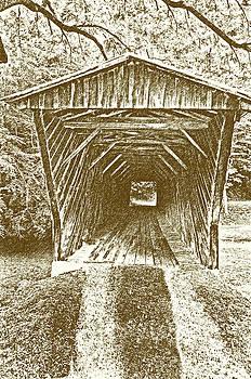 Inside Bob White Bridge by Eric Liller