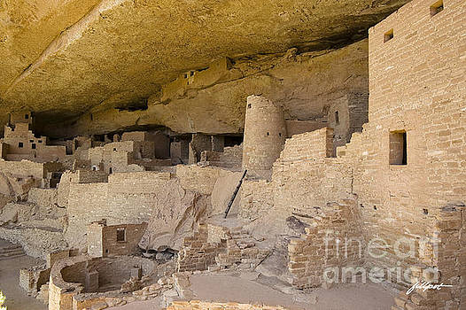 Inside Cliff Palace  by Jim Fillpot