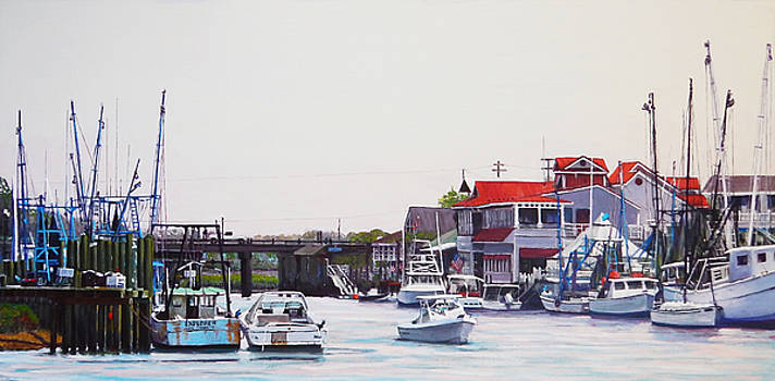 Inside Shem Creek by Thomas Michael Meddaugh