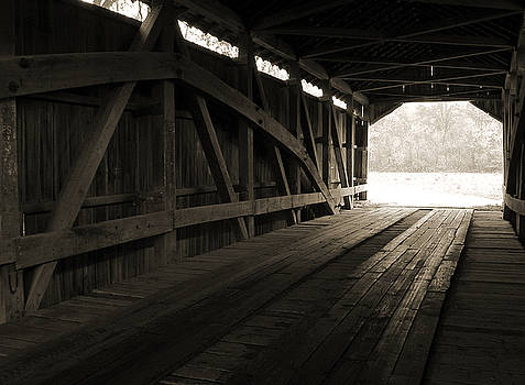 Inside the Covered Bridge by Joanne Coyle