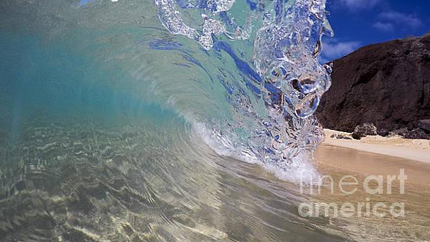Inside The Curl Big Beach Maui Wave by Dustin K Ryan