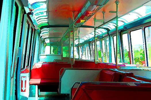 Inside the Monorail by Noel Zia Lee