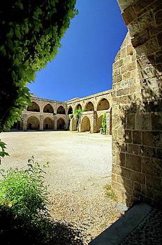 Inside view of Khan El Franj Sidon by Ahmad Zaatari
