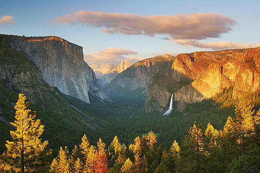 Inspiration Point Yosemite by Buck Forester