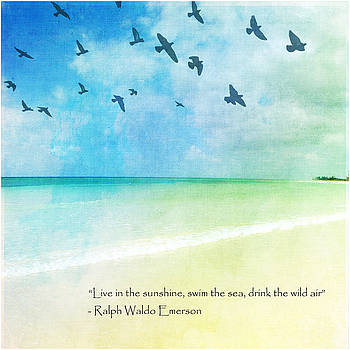 Inspirational Beach by Ken Reardon