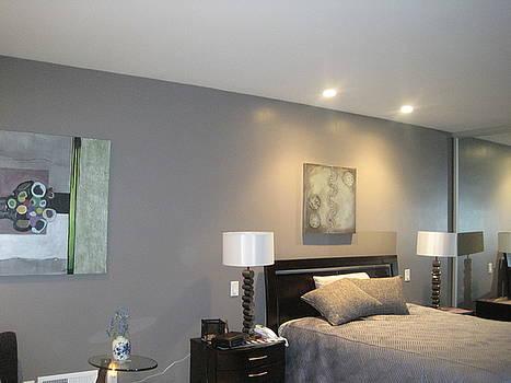 Marlene Burns - install celadon silver