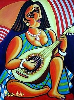 Instrumentalist by Adel Jarbou