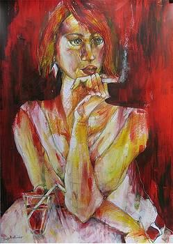 Intense Moment by Brigitte Hintner