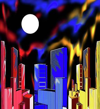 IntenseCity Aurora Borealis by Steve Farr