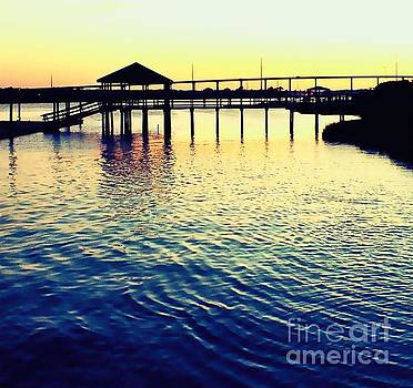 Inter Coastal Sunset  by Christy Ricafrente