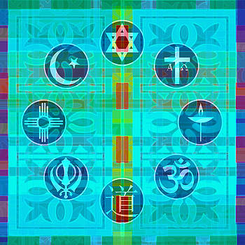 Interfaith Art 10 by Dyana  Jean