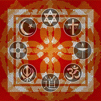 Interfaith Art 12 by Dyana  Jean