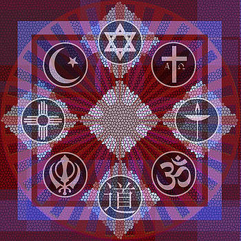Interfaith Art 19 by Dyana  Jean