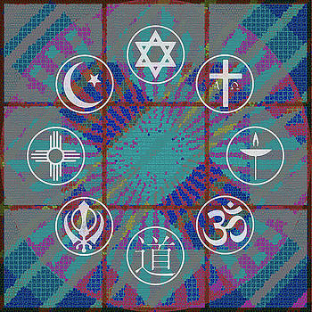 Interfaith Art 22 by Dyana  Jean