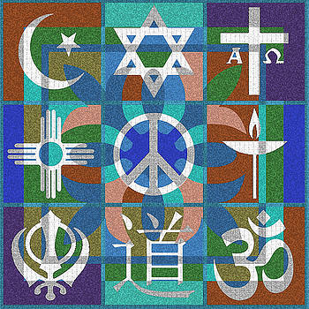 Interfaith Art 23 by Dyana  Jean