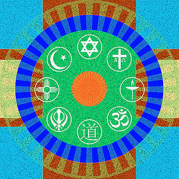 Interfaith Art 24 by Dyana  Jean