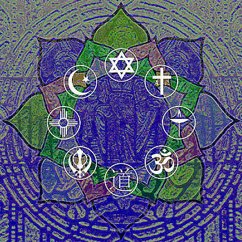 Interfaith Art 32 by Dyana  Jean