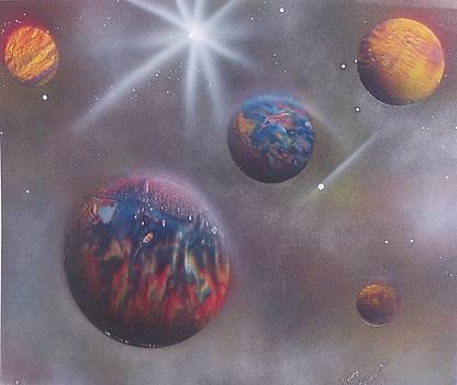 Intergalactic II by Juan Carlos Feliciano