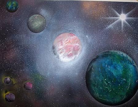 Intergalactic III by Juan Carlos Feliciano