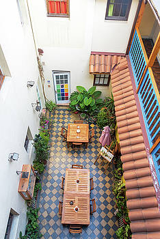 Interior Courtyard View by Jess Kraft