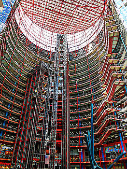 Michael Durst - Interior of Thompson Center-Chicago