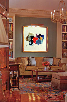 Modern Art with Traditional decors by Everett Spruill