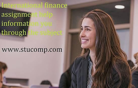 International finance assignment help