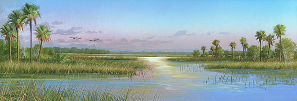 Intracoastal Glimmer by Mike Brown