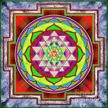 Intuition Sri Yantra 1 by Dirk Czarnota